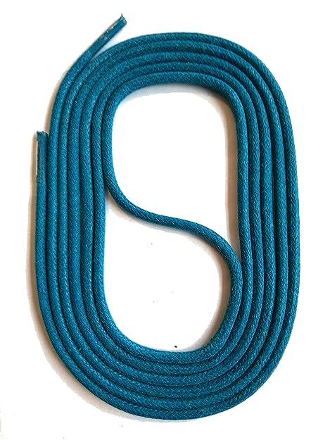 SNORS LACCI COLORATI rotondi CERATE TURCHESE 2-3 mm STRINGHE PER SCARPE  STRINGHE COLORATE  Amazon.it  Scarpe e borse 575817685e7