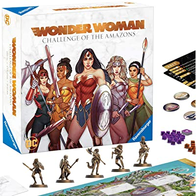 Ravensburger Wonder Woman: Challenge of The s Strategy Game for Ages 10 & Up, Model:60001841: Toys & Games