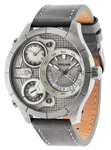 Police Bushmaster 14638XSQS/04 - Reloj de Pulsera analógico para Hombre (Mecanismo de Cuarzo