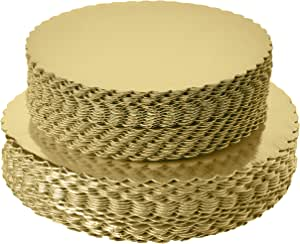 Tableros desechables para tarta de 8 pulgadas, redondos, redondos, redondos, con revestimiento redondo, base para tartas, 8 pulgadas, 25 unidades