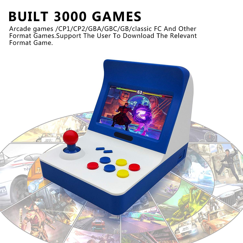 Kiii handheld game player 64bit built in 3000 retro classic games.