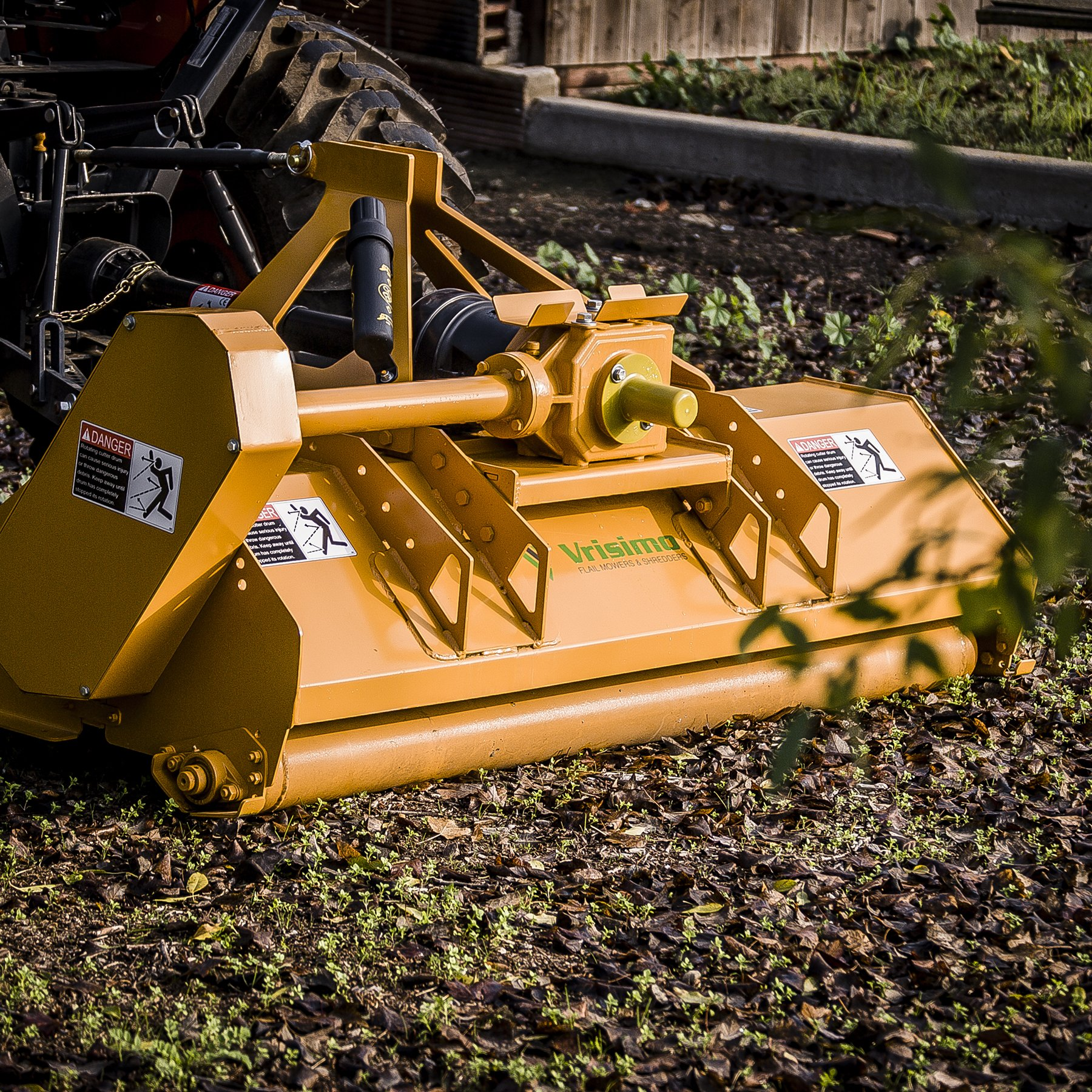 Vrisimo MiniMax 60'' Flail Mower - 20HP+ 3-Point Tractor Attachment - Made in USA