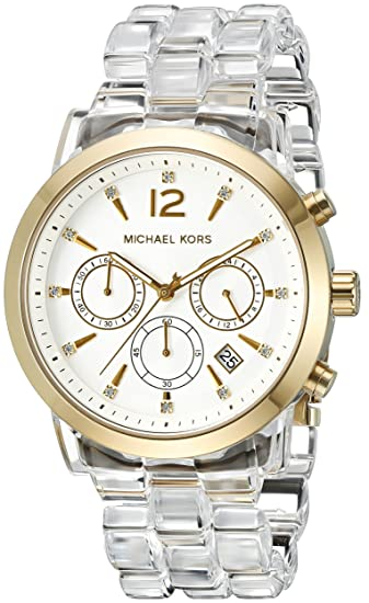 fa8fb313af41 Michael Kors Women s Audrina Gold-Tone Watch MK6200  Michael Kors   Amazon.ca  Watches