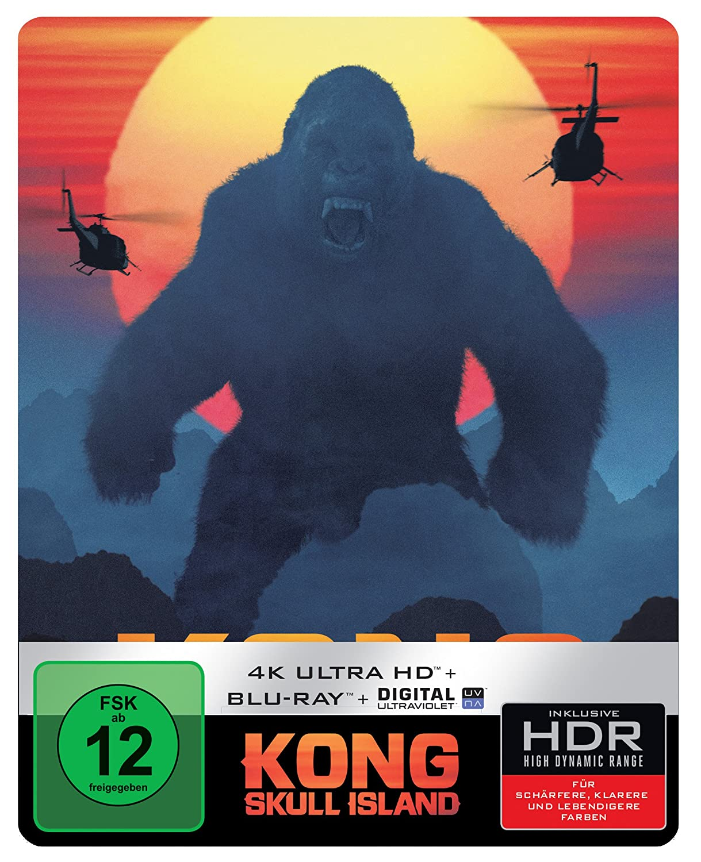 Kong Island Steelbook