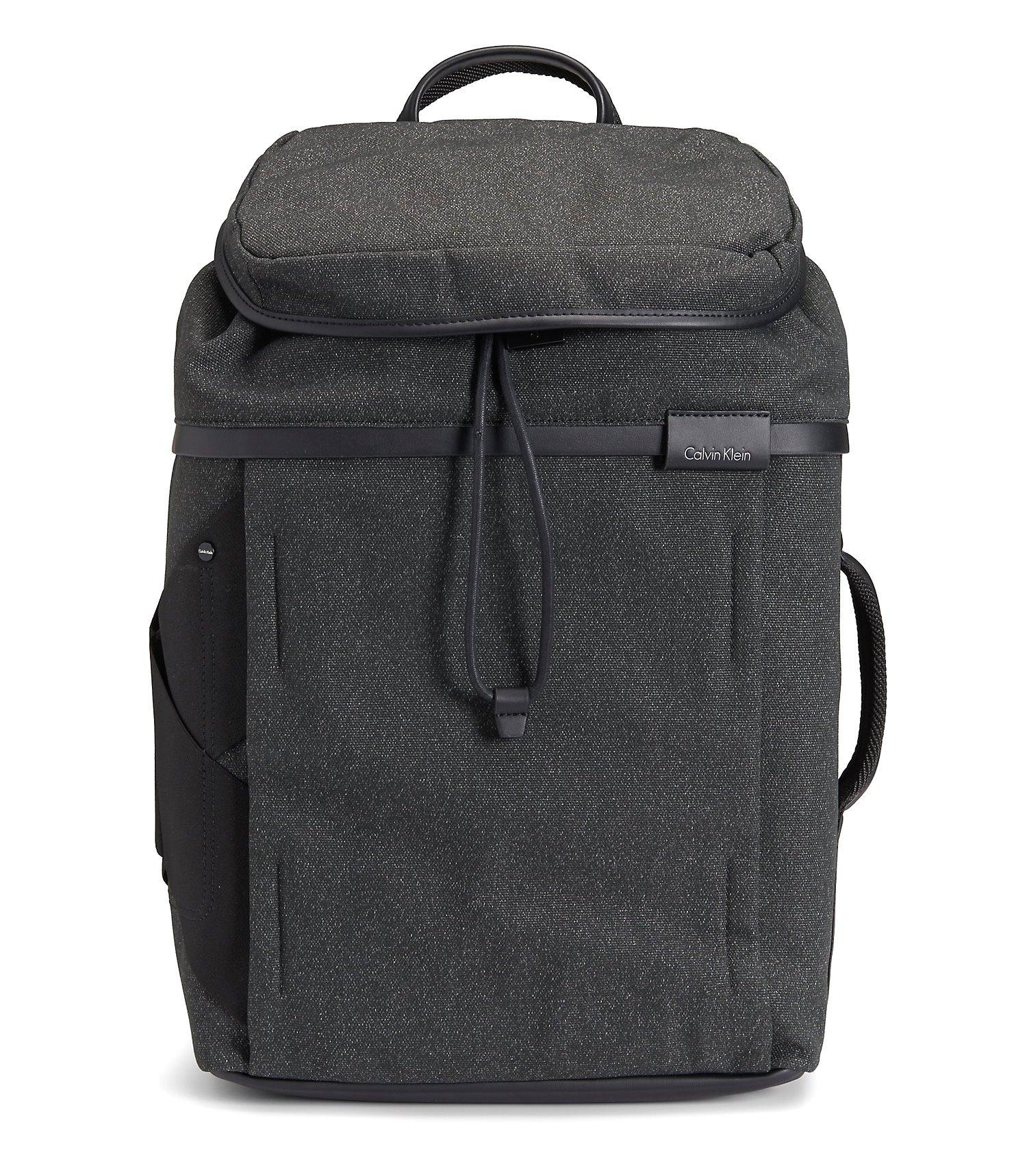 Calvin Klein Mens Weekender Travel Laptop Backpack Bag