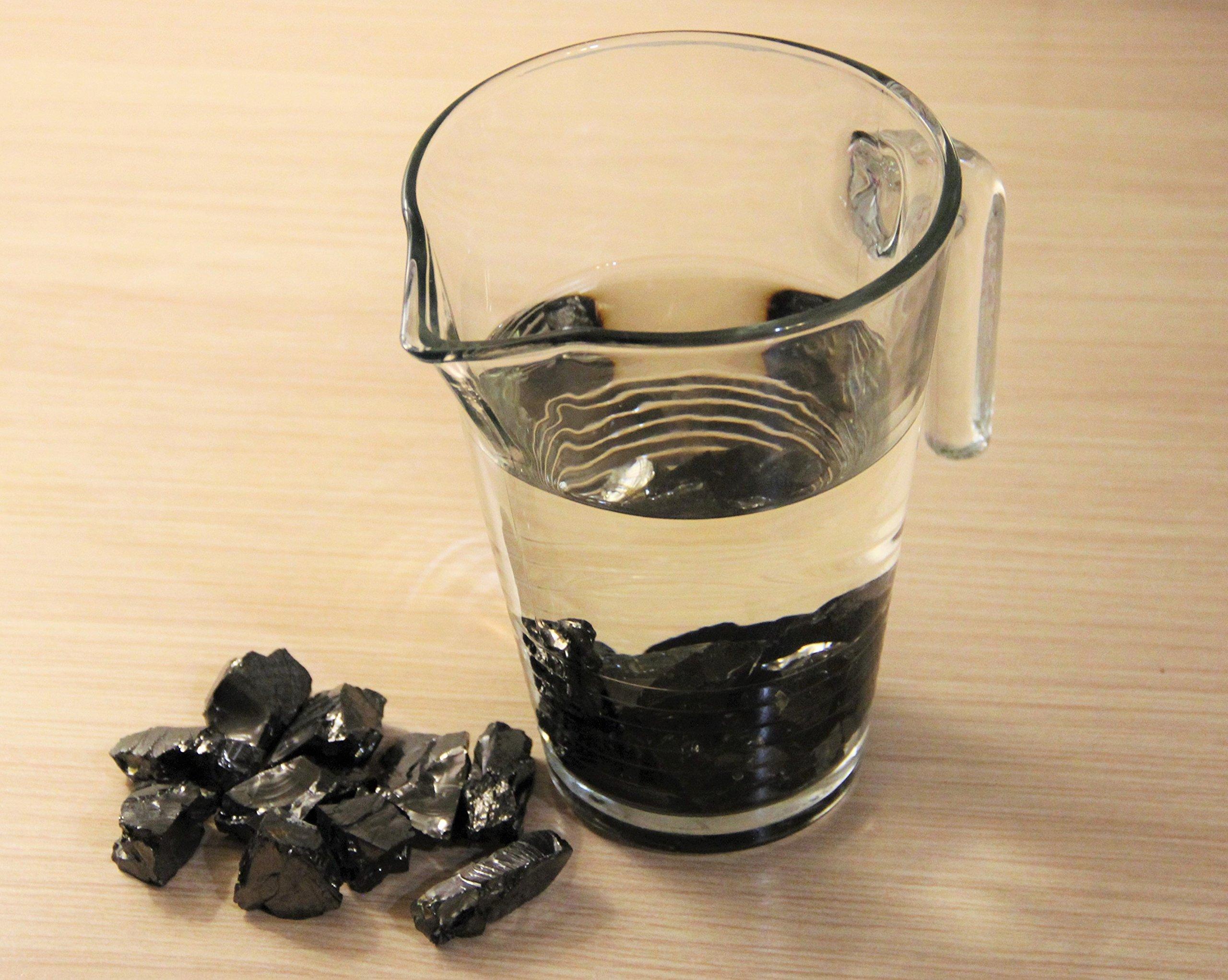 Karelian Heritage: Elite Shungite 0.1 lb (50 Grams) Water Purification Set (15-30 mm stones) ES88 by Karelian Heritage (Image #1)
