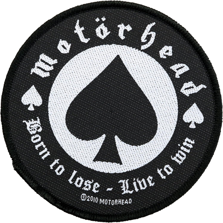 Mot/örhead Badges/ /tiss/ée /& Licence. /Born to Lose Patch/
