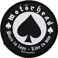 Motörhead parche–Born To Loose Patch–tejida & licencia oficial.