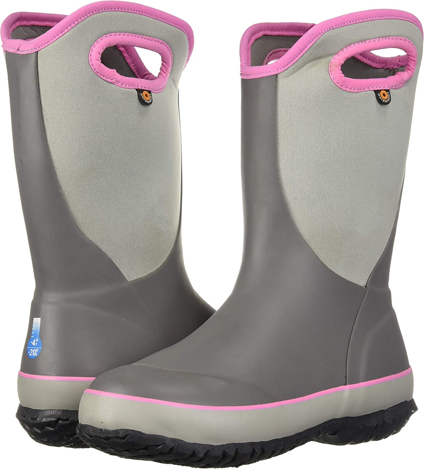 BOGS Kids Slushie Solid Insulated Rain Boots
