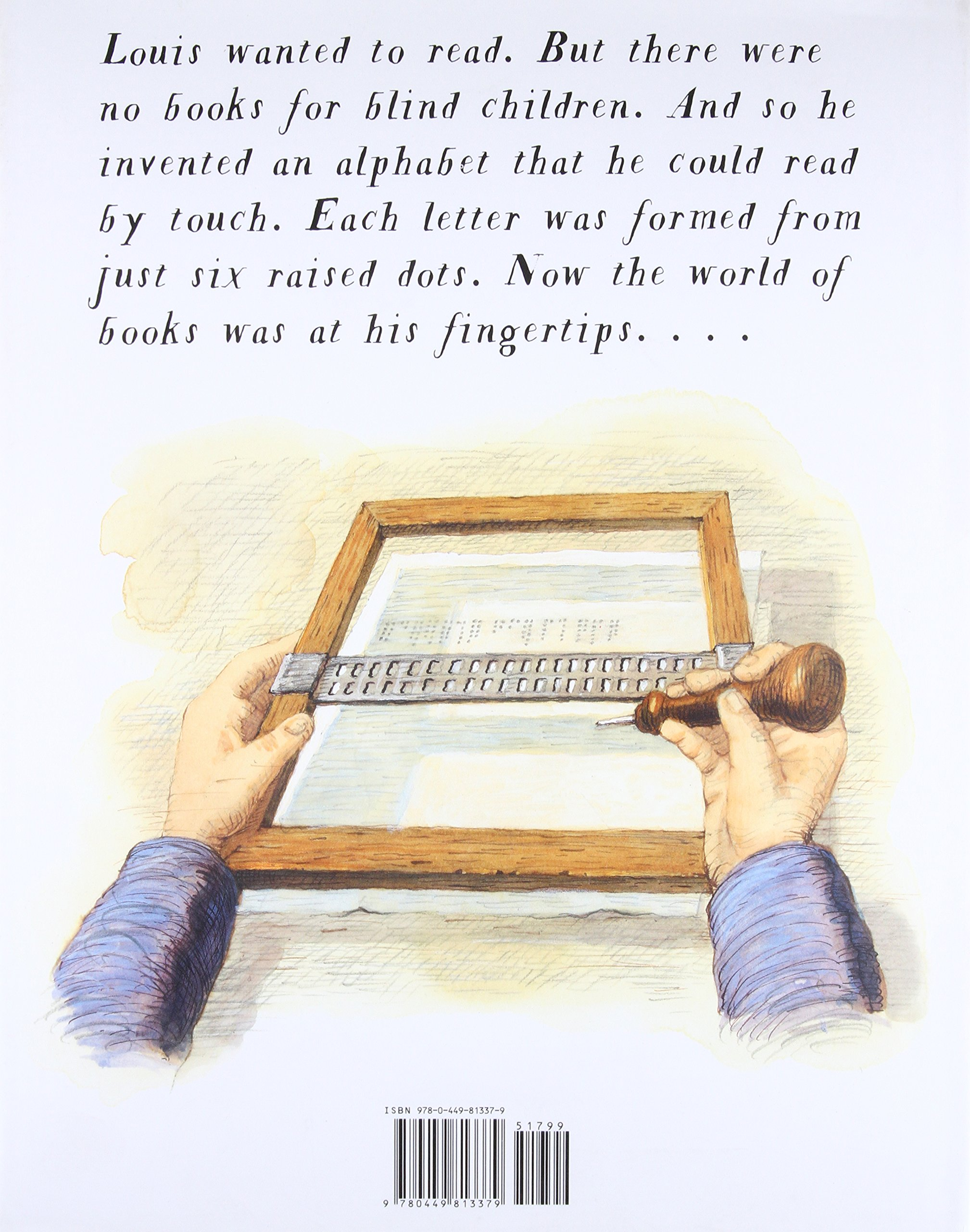 Six Dots: A Story of Young Louis Braille by Alfred A Knopf Books for Young Readers (Image #3)