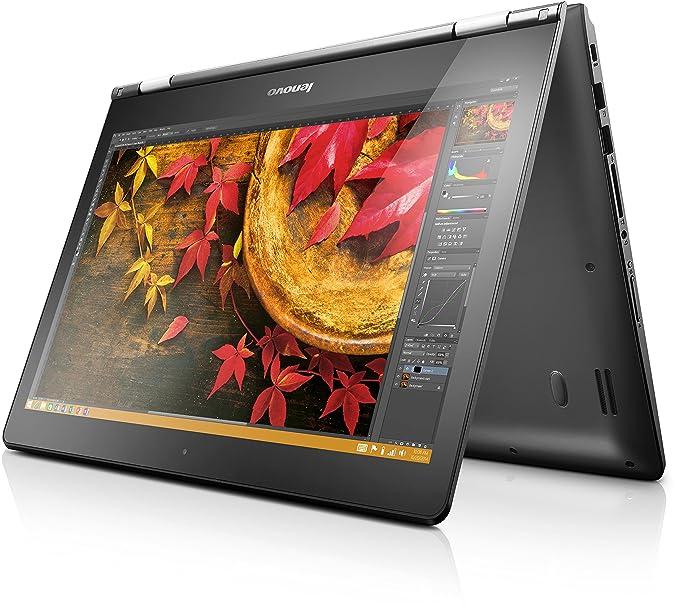 Lenovo Yoga 500 14 - Ordenador portátil (Híbrido (2-en-1), Touchpad, Windows 8.1 , Polímero de litio, 64-bit, Negro), teclado QWERTZ (alemán)