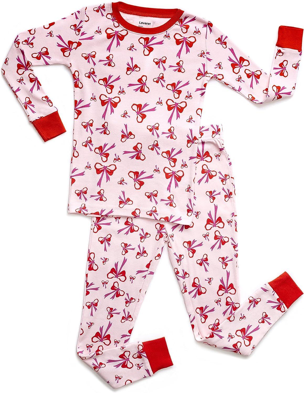 Toddler-10 Years Leveret Striped Shorts Pajamas Kids /& Toddler 2 Piece Pjs Set 100/% Cotton Sleepwear