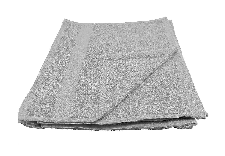 Silver WashCloths  Qty 12 robesale Terry Towels, Beach Towel, orange,