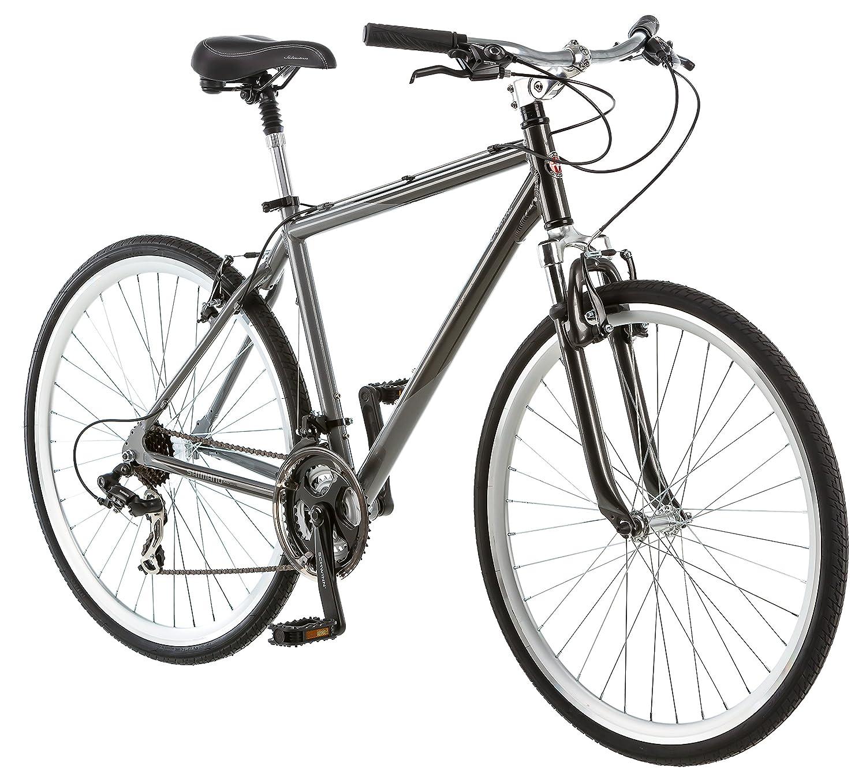 Amazon.com : Schwinn Capital 700c Men\'s Hybrid Bicycle, Medium frame ...