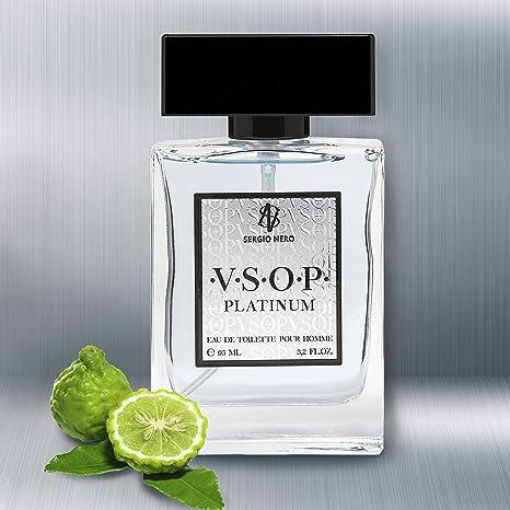 Imagen deVSOP Agua de tocador (EDT) para Hombres, 95 ml - NUEVA Fragancia para Él, La mejor idea para hacer un regalo (PLATINUM)