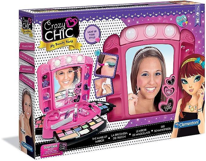 Crazy Chic - Estudio de maquillaje (Clementoni 159819): Amazon.es: Juguetes y juegos