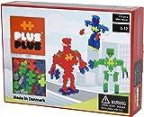 "Plus-Plus 300.3726 ""Mini Neon-Robots"" Building Blocks, Multi-Colour"