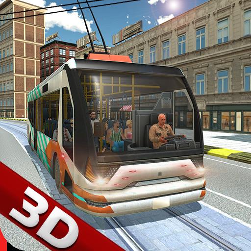 Trolley Bus Games - Driving Simulator 2018