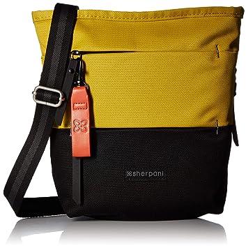 d5480535d Amazon.com: Sherpani Women's RFID Sadie Crossbody Bag Cross Body, Saffron  One Size