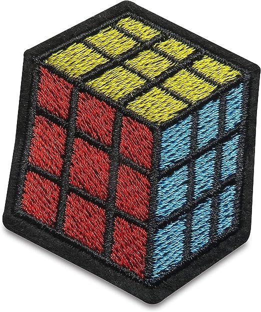 Finally Home - Parche termoadhesivo, diseño de Cubo de Rubik ...