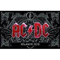 Desconocido AC/DC bfbac2Desayuno, plástico, Negro
