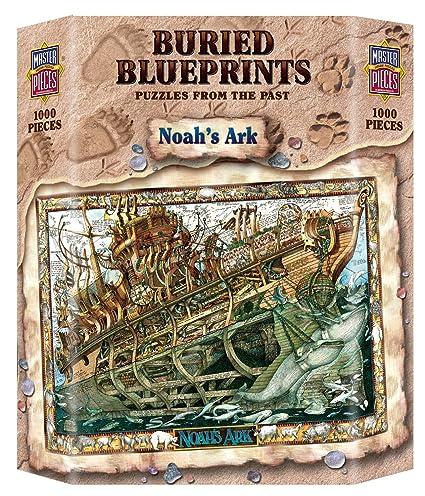 Amazon masterpieces buried blueprints noahs ark jigsaw puzzle masterpieces buried blueprints noahs ark jigsaw puzzle 1000 piece malvernweather Gallery