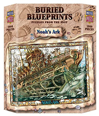 Amazon masterpieces buried blueprints noahs ark jigsaw masterpieces buried blueprints noahs ark jigsaw puzzle 1000 piece malvernweather Choice Image