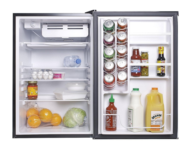 Etonnant Amazon.com: Haier HC45SG42SV 4.5 Cubic Feet Refrigerator/Freezer, White  Interior, VCM Door: Appliances