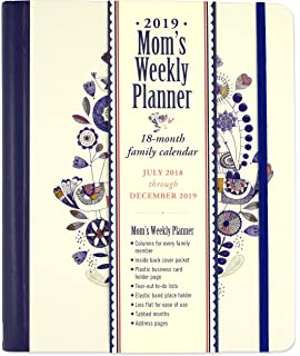 2019 she believed she could moms weekly planner 18 month family calendar
