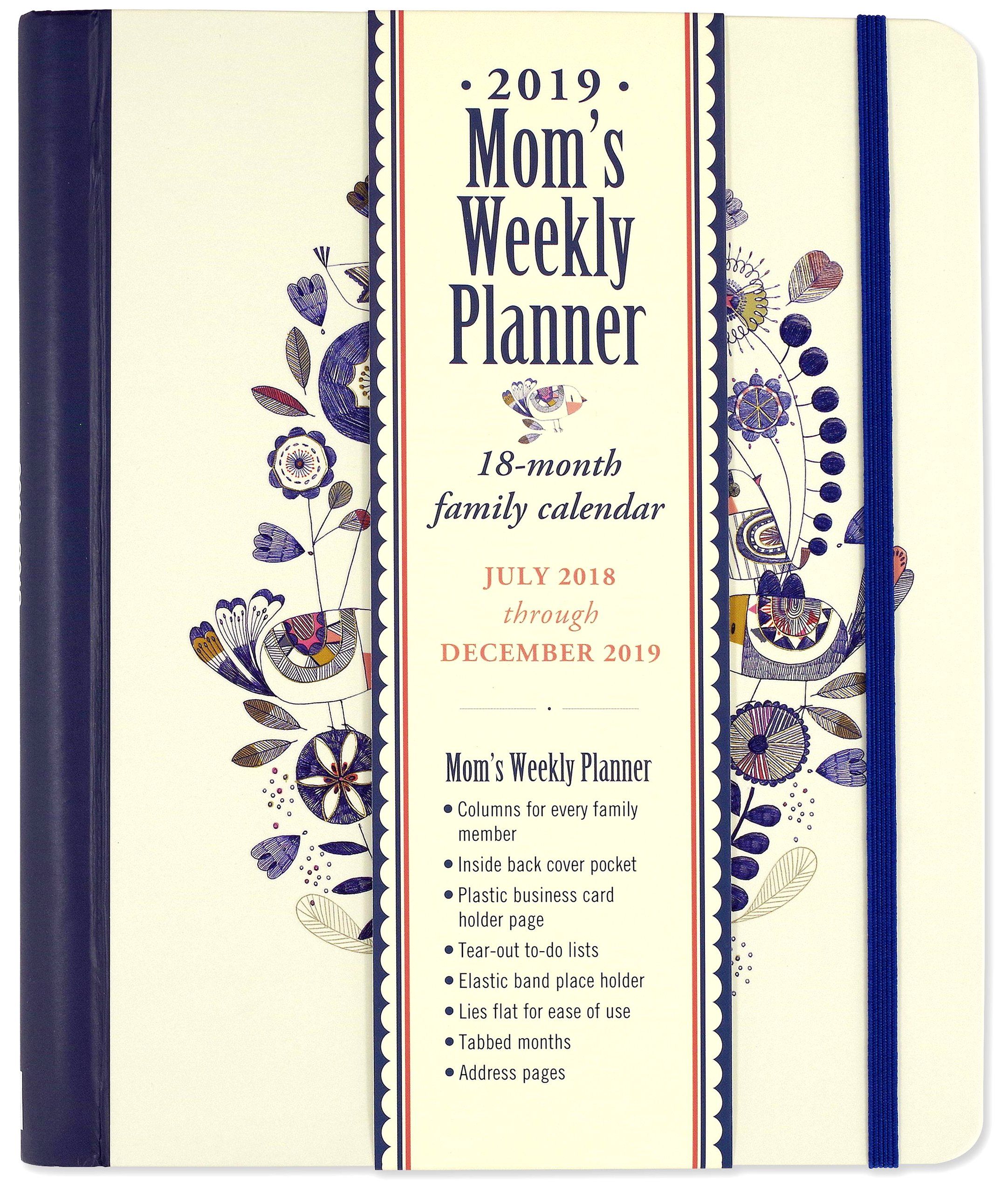 2019 She Believed She Could Mum's Weekly Planner 18-Month Family Calendar,  Diary: Amazon.co.uk: Inc. Peter Pauper Press: Books