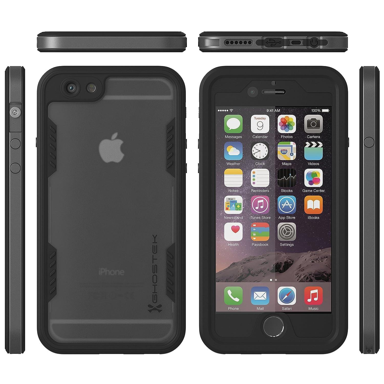 apple iphone 6 space grey. amazon.com: iphone 6s waterproof case, ghostek atomic 2.0 series for apple 6 \u0026 | underwater shockproof dirtproof snow-proof aluminum frame iphone space grey