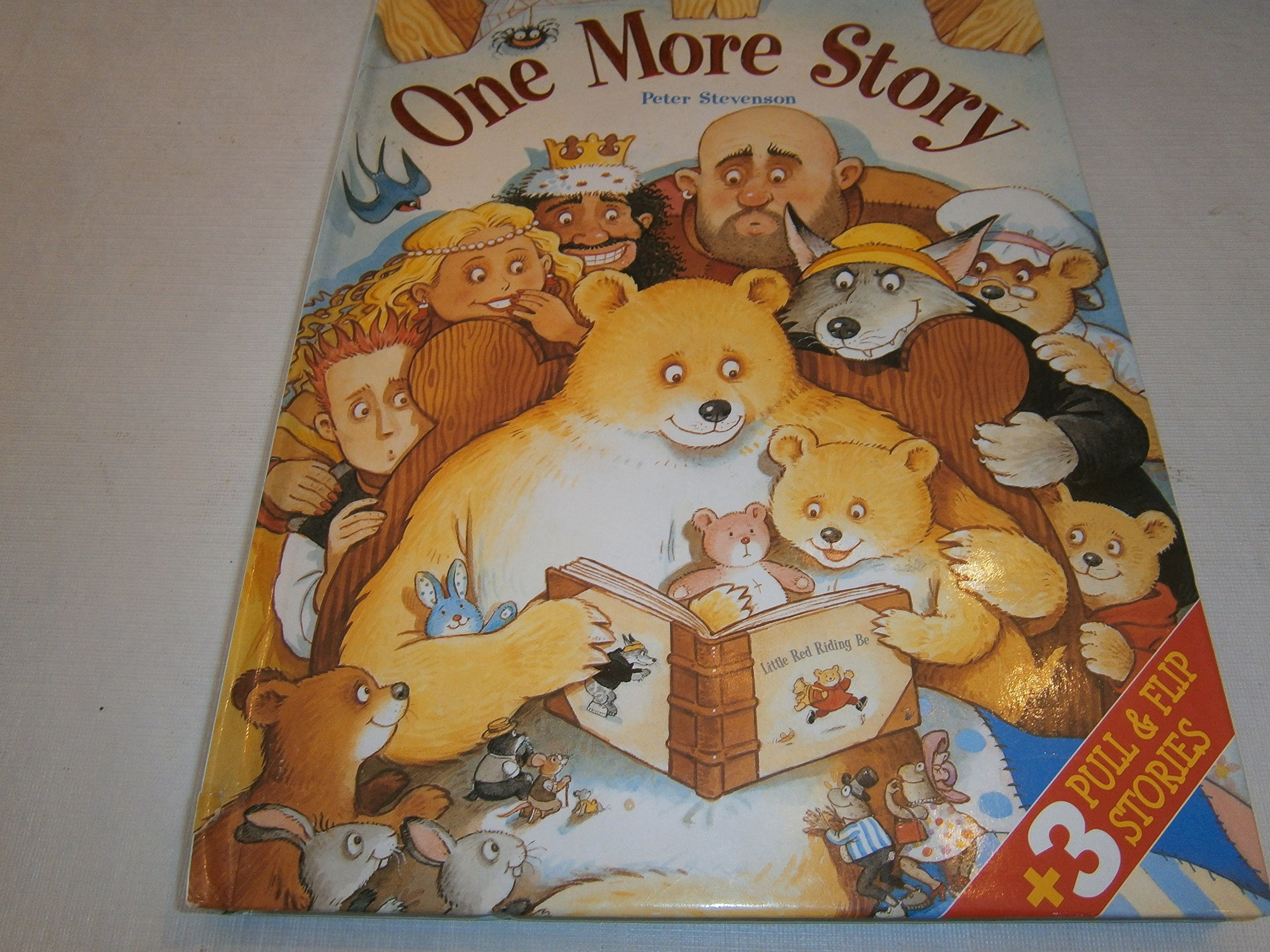 Download One More Story: 3 Pull & Flip Stories - Little Red Riding Bear, Thumbearlina, Bear in Boots pdf epub