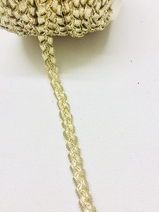 Cotton Braided Lace Gota for Dresses Craft 9 m