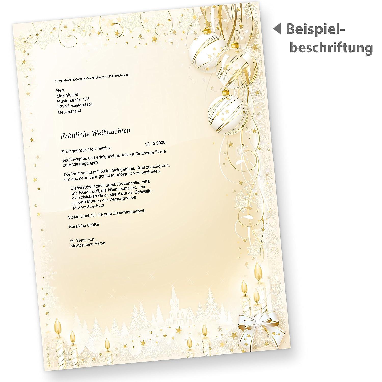 Tatmotive Briefpapier Weihnachtsmärchen 500 Sets Anmutiges
