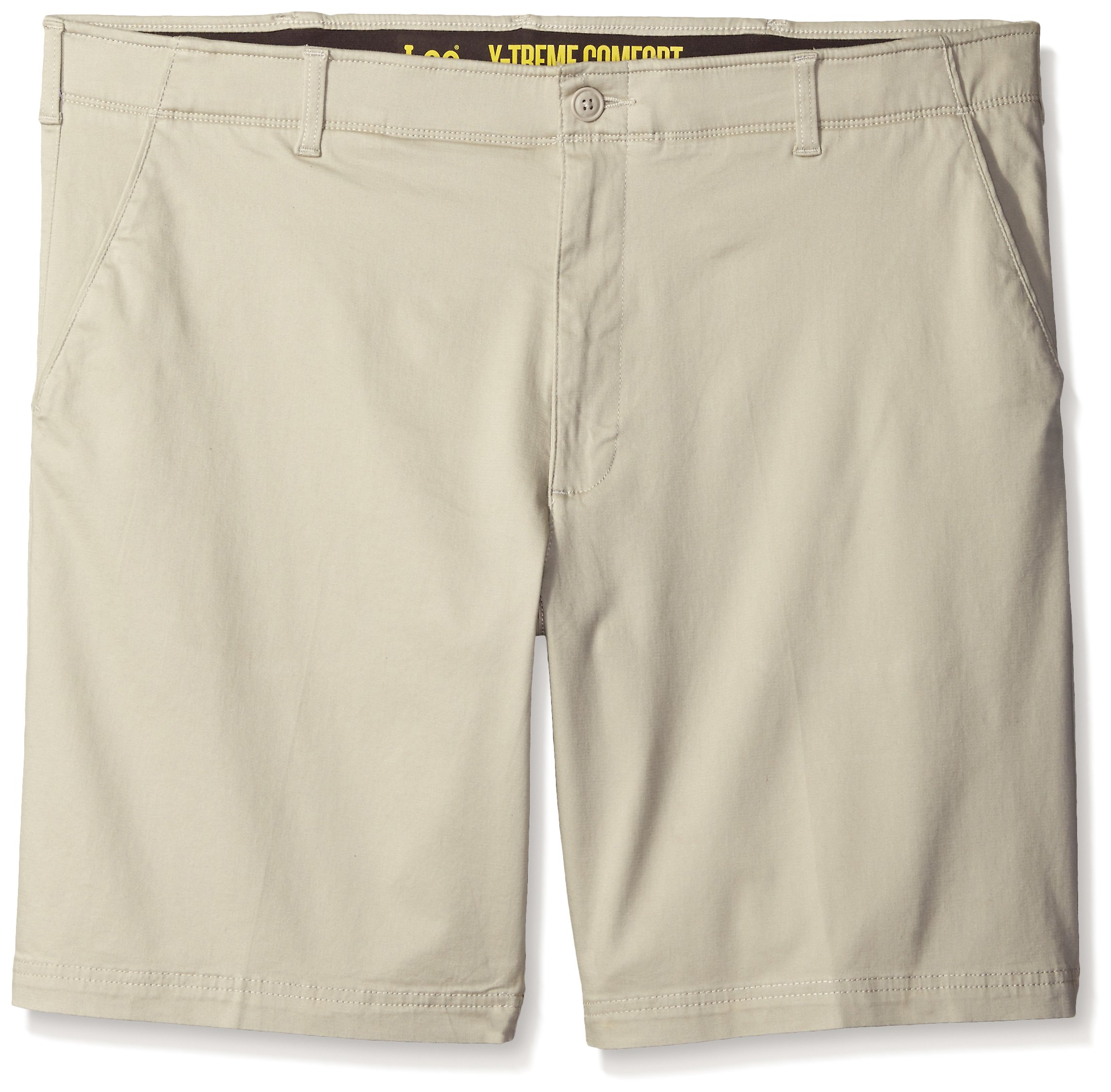LEE Men's Big-Tall Performance Series Extreme Comfort Short, Stone, 48