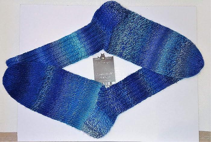 Tejido a mano/tejido de punto/calcetines/de lana/4 capas/