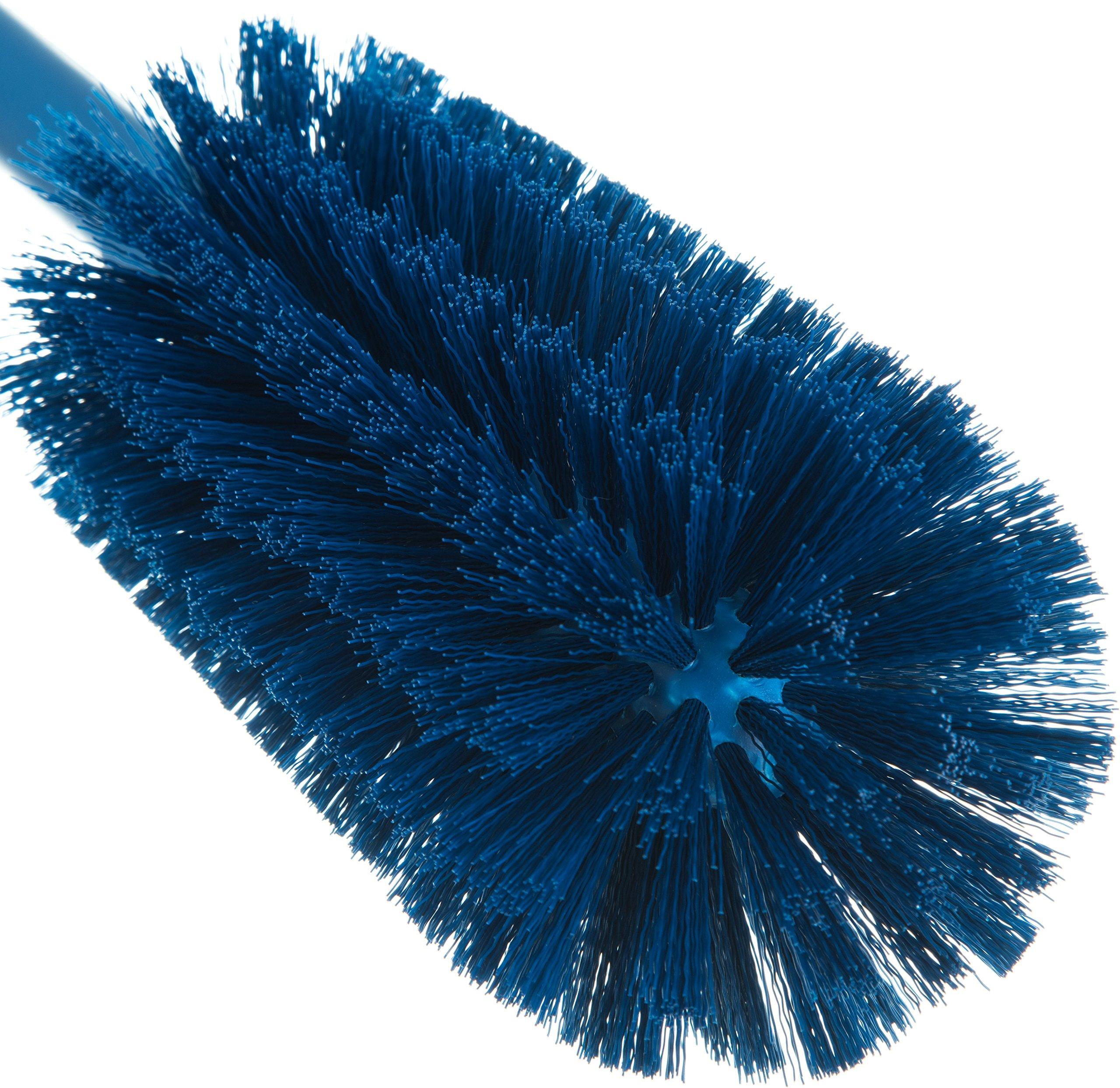 Carlisle 40001C14 Commercial Bottle Brush, Polyester Bristles, 16'' Length, Blue (Pack of 6) by Carlisle (Image #4)