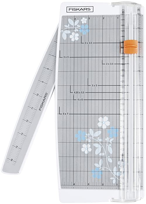 Fiskars 196920-1001 Portable Scrapbooking Trimmer, 12 Inch