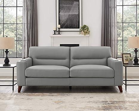 Amazon.com: Hydeline Elm - Juego de sofás (100% piel), color ...