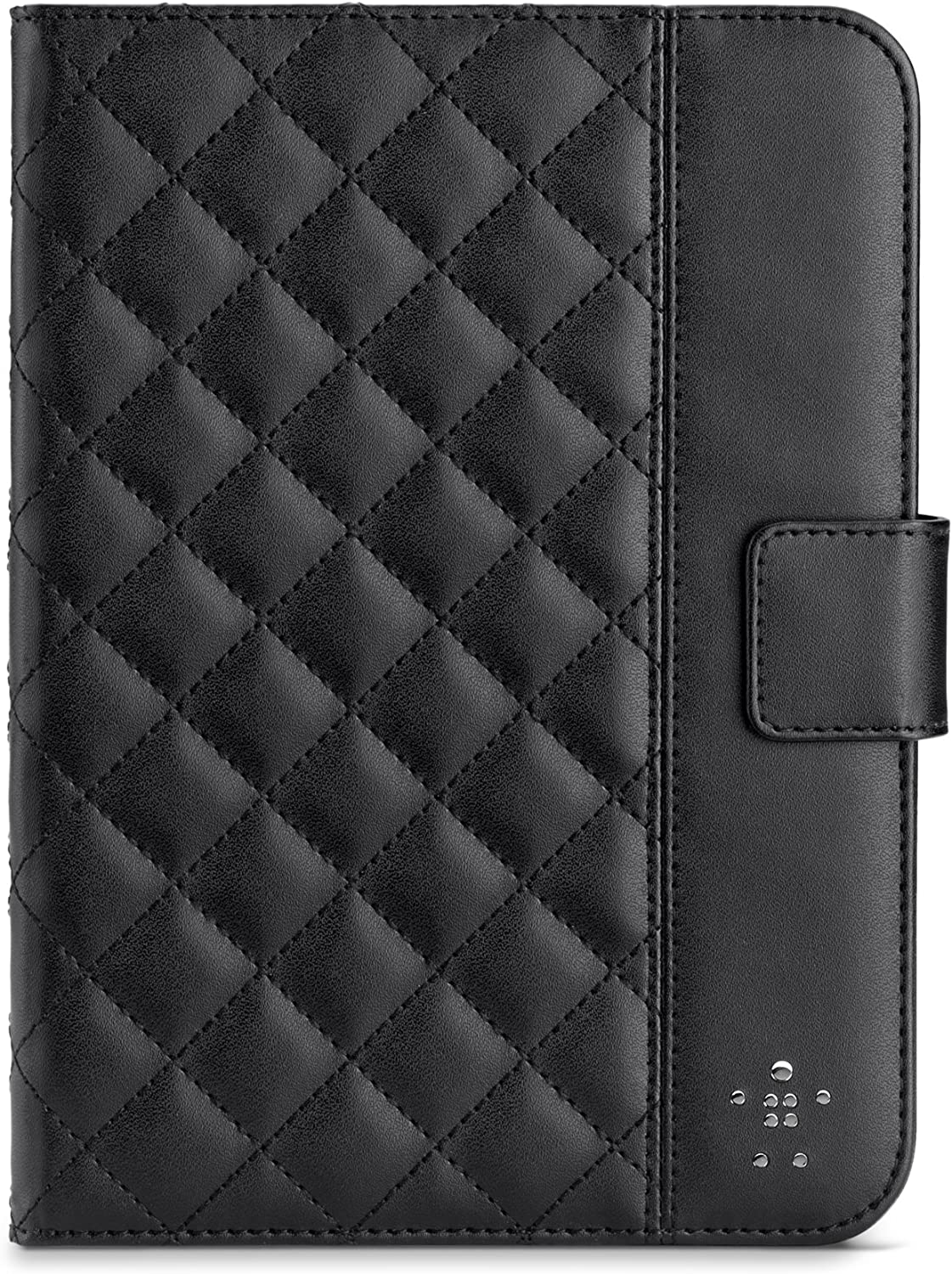 Belkin Quilted Cover with Stand for iPad Mini 3, iPad Mini 2 with Retina Display and iPad Mini (Black)