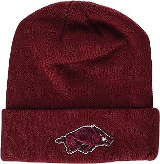5a0f68356cf Amazon.com   ZHATS Arizona State Sun Devils Maroon Cuff Beanie Hat ...