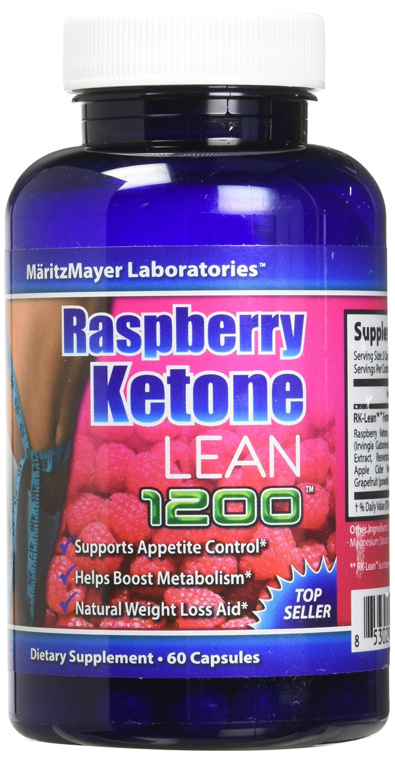 Raspberry Ketone Lean Advanced Weight Loss 60 Capsules - 2 Pack by Maritz Mayer