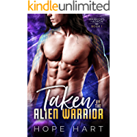 Taken by the Alien Warrior: A Sci Fi Alien Romance (Warriors of Agron Book 1) book cover