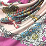 YOUR SMILE Silk Like Scarf Women's Fashion Pattern