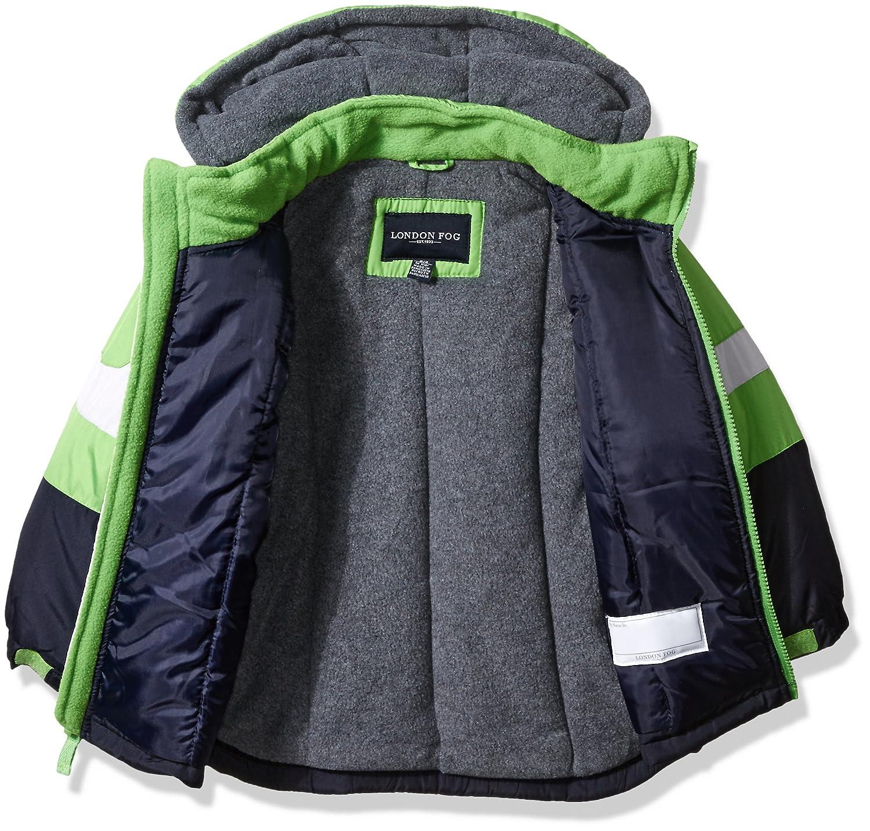 London Fog Boys 2-Piece Snow Bib and Jacket Snowsuit