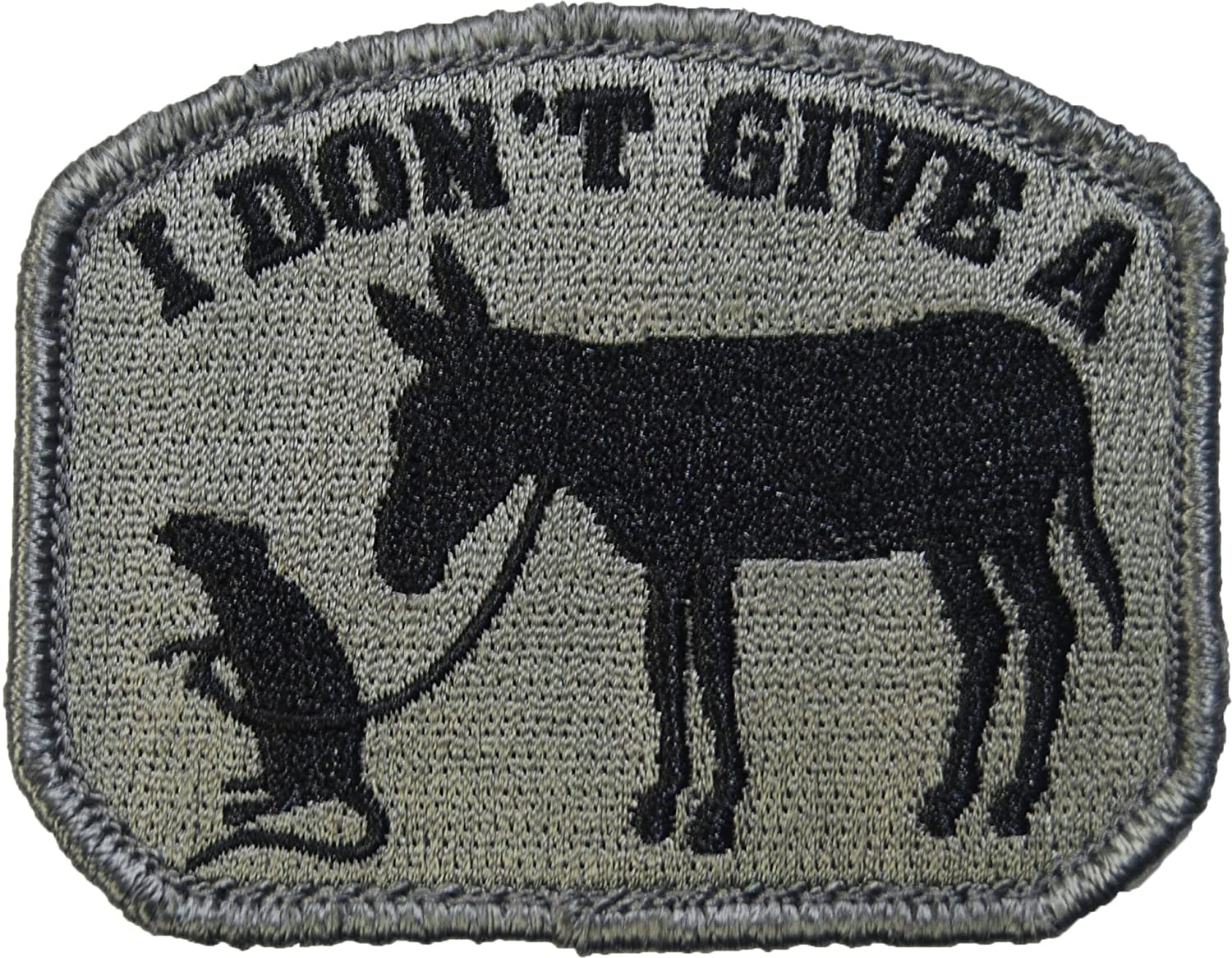 Amazon.com: I Don t Give A Rat de Ass Moral Patch (ACU ...