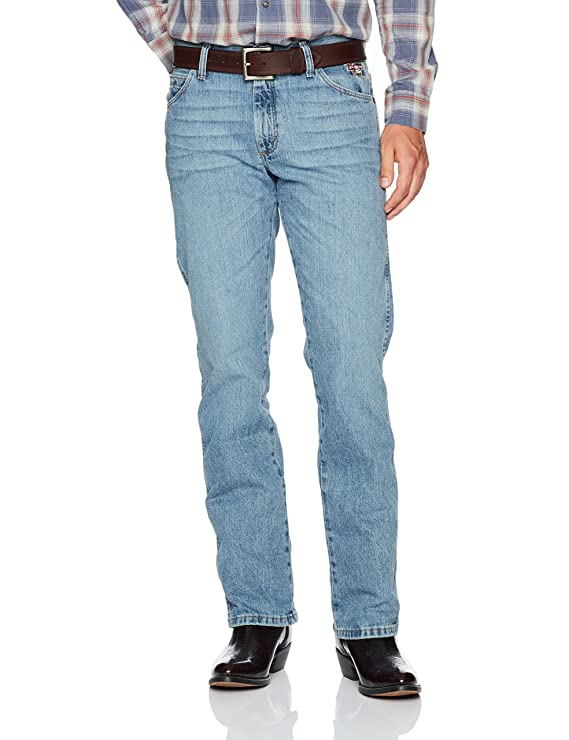 69b4dfb7 Wrangler Men's PBR Vintage Boot Cut Jean at Amazon Men's Clothing store: