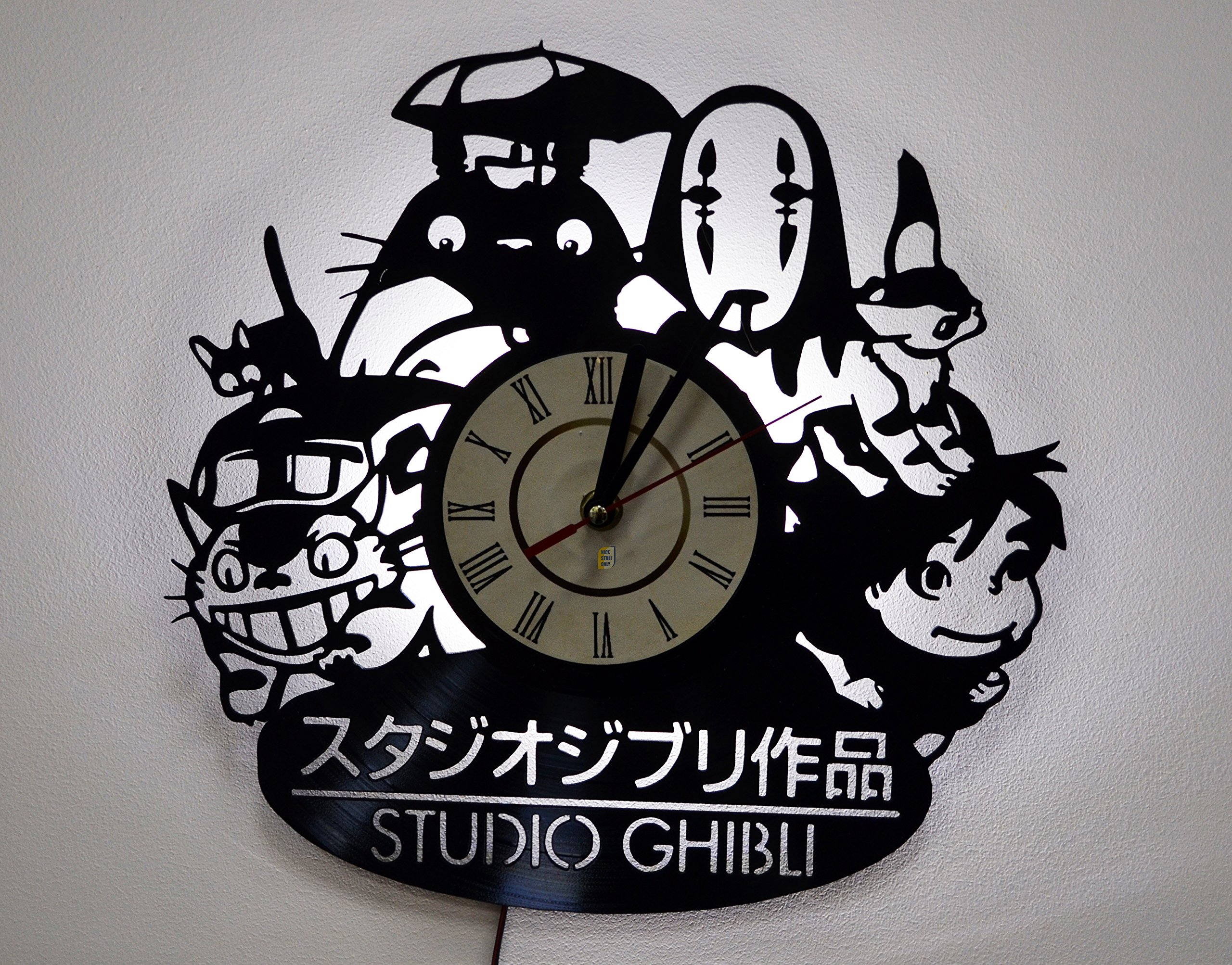 NICE STUFF ONLY Studio Ghibli Characters Wall Lights, Night Light Function, Original Kids Room Interior Decor