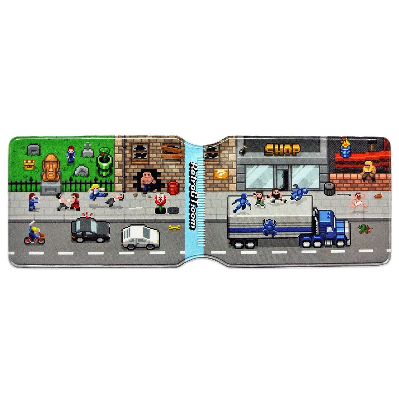 Retro Hoja de Pixel Art Tarjeta de Oyster Soporte para ...
