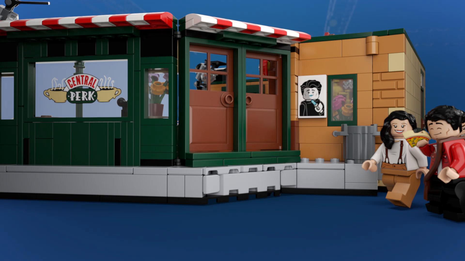 LEGO Ideas - Central Perk, set de construcción, set de la ...